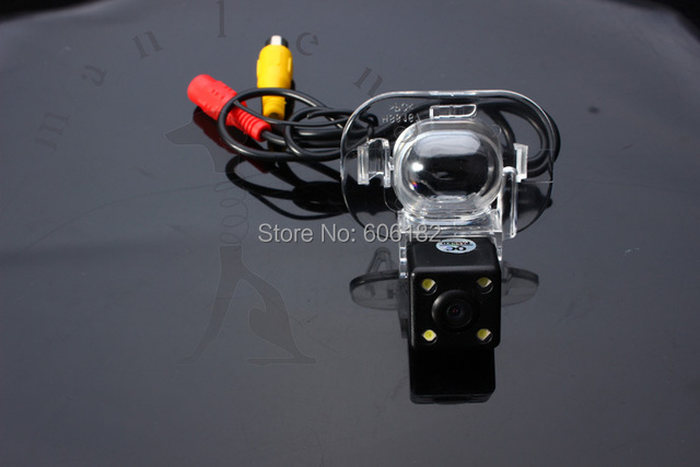 1/3'' Color CCD rear view camera solaris Car rearview camera for Hyundai solaris sedan verna waterproof  LED night vision
