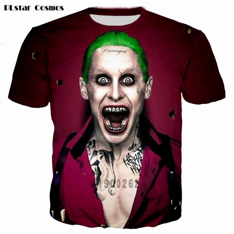 Batman The Joker t shirt Տղամարդկանց / կանանց PLstar - Տղամարդկանց հագուստ - Լուսանկար 2
