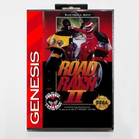 Road Rash 2 - Retail Box - Sega Mega Drive For Genesis 1