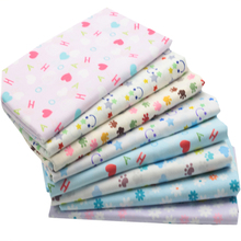 hot deal buy floral cartoon cotton quilting fabric sewing cloth material fabric for baby patchwork crafts 8 designs size 40x50cm
