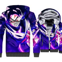 Hot Sale Dragon Ball Anime Sweatshirts Hip Hop Men's Hoodies Streetwear Unisex Jackets 3D Patten Thick Coat New Zipper Tracksuit hot sale mens clothing 2018 dragon ball 3d hoodies hip hop unisex sweatshirts harajuku men s coat winter thick masculine jackets