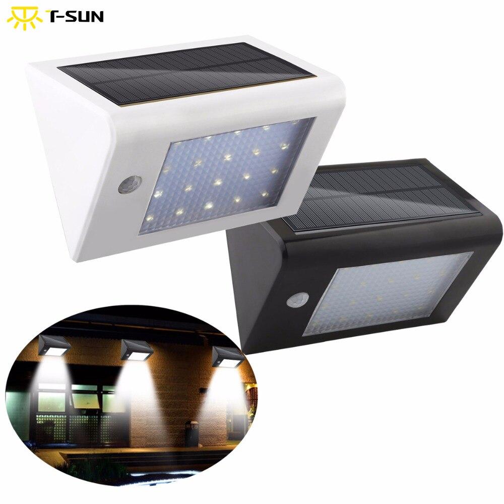 ᑐ2pcs pack 20 led outdoor lighting solar powered lamp light