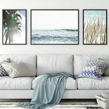 Морской пейзаж настенное искусство тропический прибережной океан