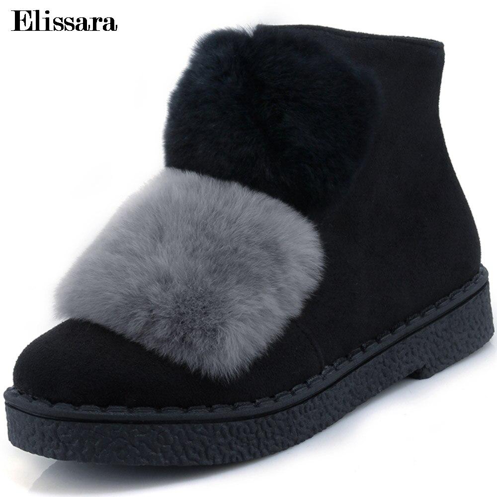 Bottes Plus Hiver Chaussures Cheville gris Femmes Zip Plate forme Talons Neige Taille 30 Noir Elissara La jaune Chaud 44 vert Mi Femme cTF15J3uKl