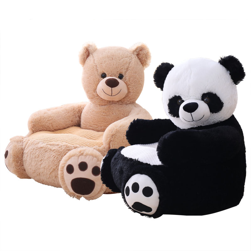 Pleasing Us 29 49 15 Off 1Pc 50 50 45Cm Lovely Cartoon Kids Sofa Chair Plush Seat Baby Nest Sleeping Bed Adult Pillow Stuffed Teddy Bear Panda Plush Toys In Gmtry Best Dining Table And Chair Ideas Images Gmtryco