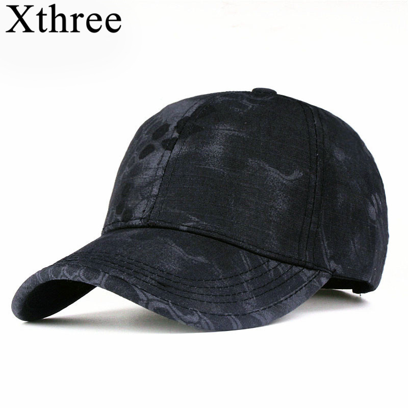 ab55c32fe20 כובעי בייסבול - Xthree camouflage baseball cap army hat snapback Hat for men  Cap gorra casquette dad hat Wholesale