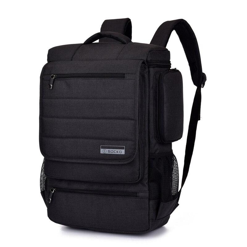 Рюкзак для ноутбука 15 15,4 15,6 17 17,3 дюймов дорожная школьная сумка на молнии для Macbook Pro Мужская и женская универсальная водонепроницаемая сумк