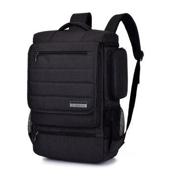 Рюкзак для ноутбука 15, 15,4, 15,6, 17, 17,3 дюймов, дорожная школьная сумка на молнии с верхом, дизайн для Macbook Pro, универсальная водонепроницаемая сум...