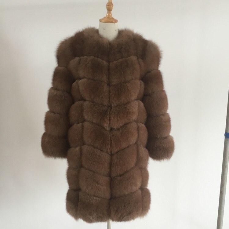 2019 nová liška kožešina kabát velké kusy ve tvaru diamantu. Ženské modely přidají koženou liščí kožich. Velikost lze přizpůsobit