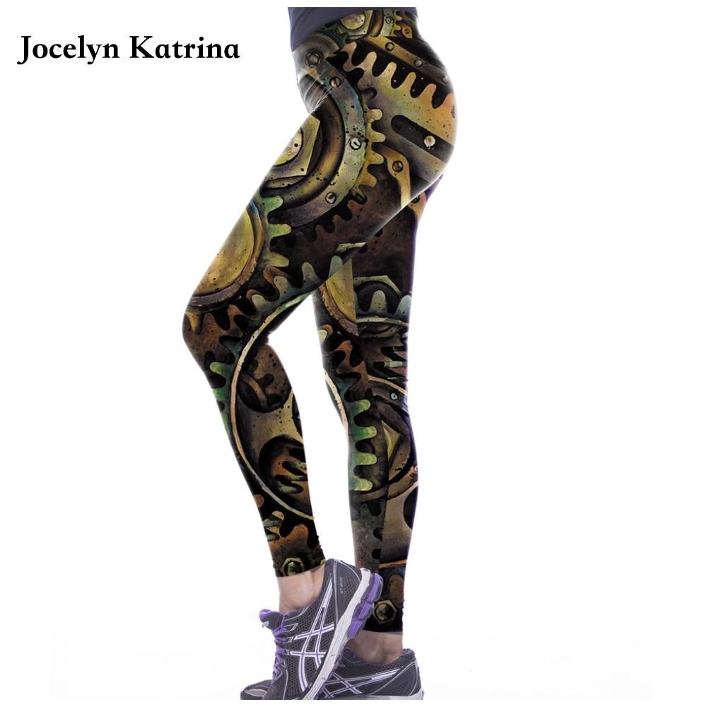 Women Sports Leggings Yoga Pants Summer Printed Stretch Legging Sexy Slim Compression Pants Elastic Fitness Pants Clothing