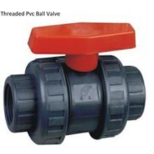 "DN25 1"" Manual Socket PVC Plastic Ball Valve,   Plastic  Thread PVC Ball Valve"