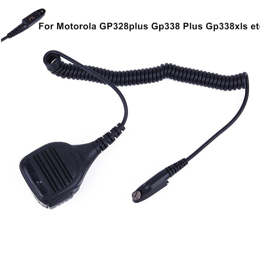 Μικρόφωνο ηχείου PTT για το Walkie Talkie GP344 GP388 GP328Plus GP338Plus GL2000 EX500 Φορητό ραδιοφωνικό μικρόφωνο cb