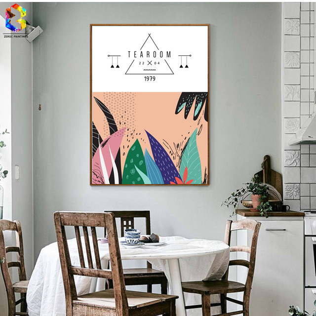 ZeroC Japanischen Hause Zubehör Leinwand Kunstdruck Poster, Wandgemälde Für Wohnzimmer  Dekor, Nordic Minimalistische Dekoration