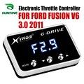 Автомобильный электронный контроллер дроссельной заслонки гоночный ускоритель мощный усилитель для FORD FUSION V6 3 0 2011 Тюнинг Запчасти аксессу...