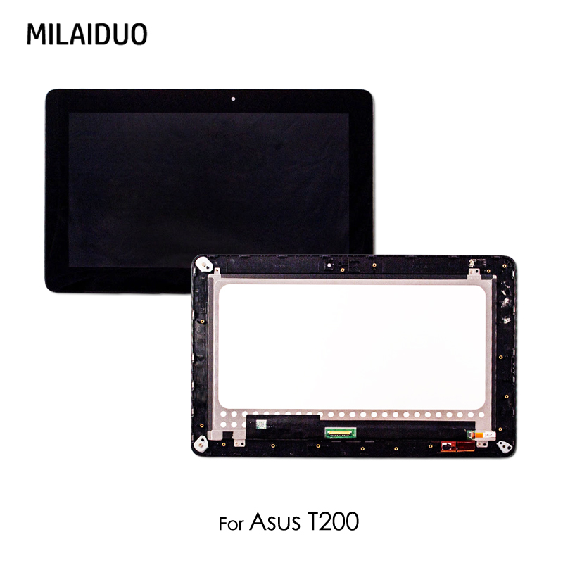 Original LCD Display Tablet For ASUS Transformer Book T200 T200TA 11.6 Touch Panel Screen Digitizer Glass Assembly with frame lcd display panel screen monitor touch screen digitizer glass assembly with frame for asus transformer book t300 t300l t300la