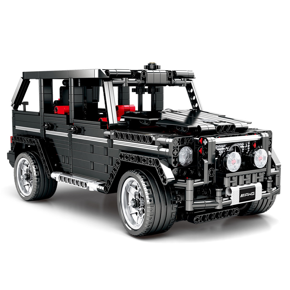 Technic G-Class SUV G500 Off Road Vehicles Car Building Blocks Kit Bricks Classic Model Kids Toys For Children Gift image