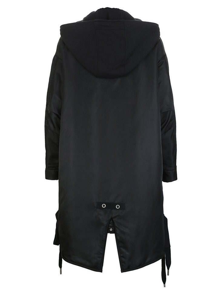 ONLY Women's Lace-up Hooded Cotton Coat |118122502 19