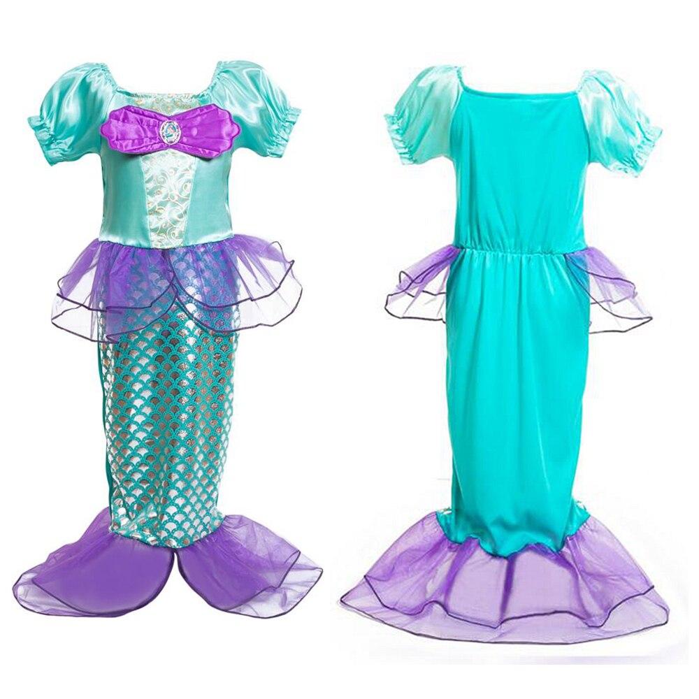 Little Mermaid Costume Kids Girls Mermaid Dress Baby Girl Fancy ...