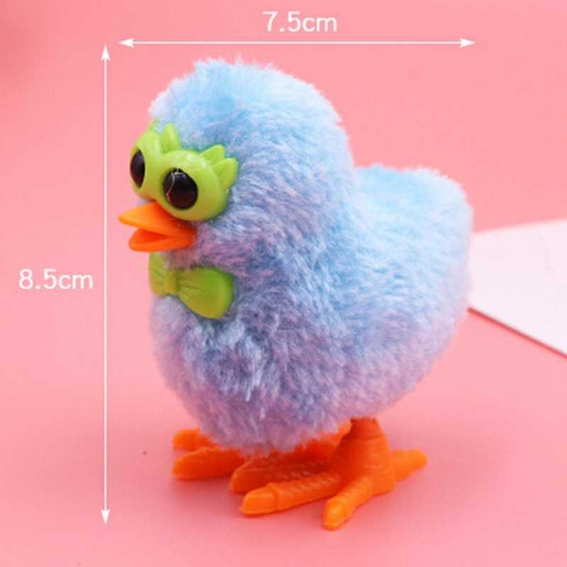 Новинка 1 шт. очки плюшевые Чик игрушечный часовой механизм плюшевые игрушки цыпленок симпатичный Игрушки для малышей, детей теплые сапоги с плюшевой игрушки случайного цвета