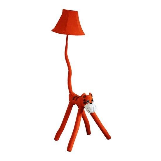 Kinder Lampe Stoff Tier Caton Red Tiger Geschenk Beleuchtung Moderne Dekoration Stehlampe Wohnzimmer Schlafzimmer