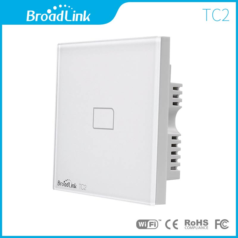 UK standard BroadLink 433Mhz Smart home automation touch Wall Light ...