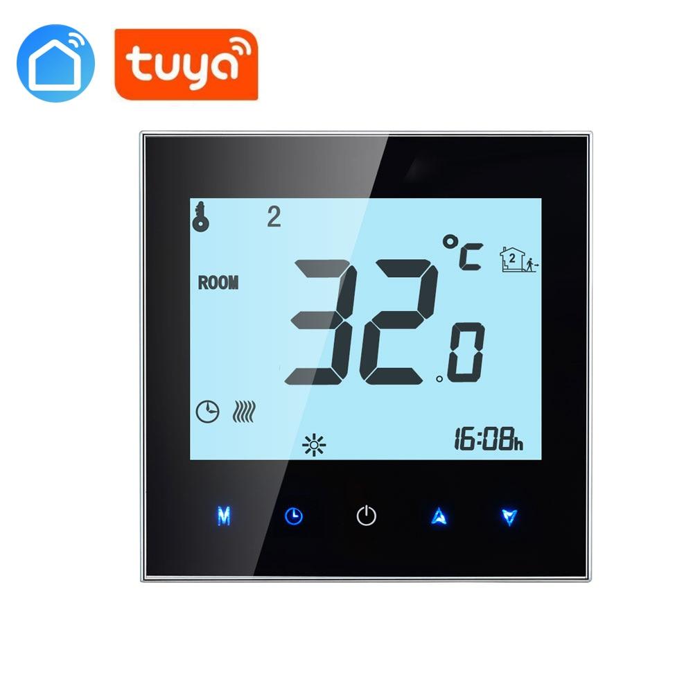 APP WiFi Boiler Thermostat Boilers Heating  Digital Temperature Regulator Fits Smart Home Auto Control Thermostat TUYA SAMRT