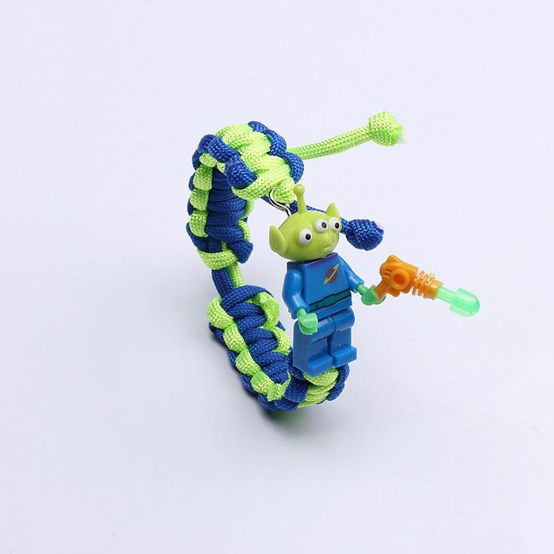 История игрушек 4 Вуди Базз Лайтер браслет Мстители эндшпиль Железный человек сайдерман браслет строительные блоки Actiefiguren Kinderen подарок - Цвет: 17