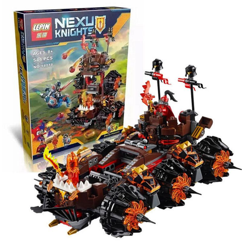 14018 8017  Knights Siege Machine Model Building Kits Compatible With  City 3d Blocks Educational Children Toys lepin 14018 8017 nexus knights siege machine model building kits compatible with lego city 3d blocks educational children toys