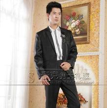 Black pant suits Studio male wedding dress men's jacket slim fit blazers man ternos masculino 2016 blazer men suit plus size