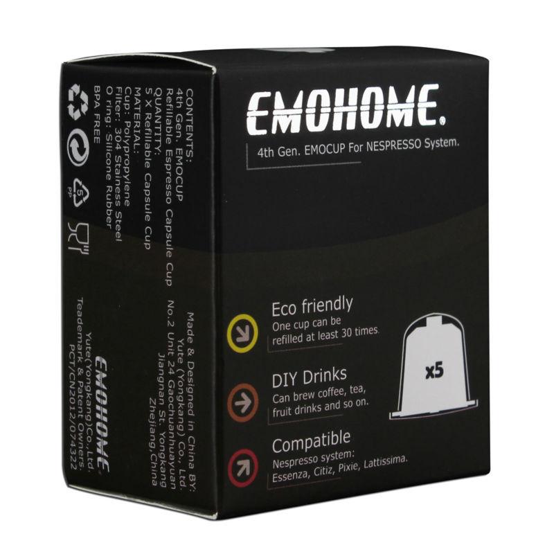 Kapsula e ripërdorshme e kafes Nespresso e ripërdorshme EM-04F mund - Kuzhinë, ngrënie dhe bar - Foto 5