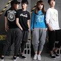 Vogue Men Girl Boy Unisex Harem Baggy Pants Hip Hop Drop Crotch Dance Pants M-XL