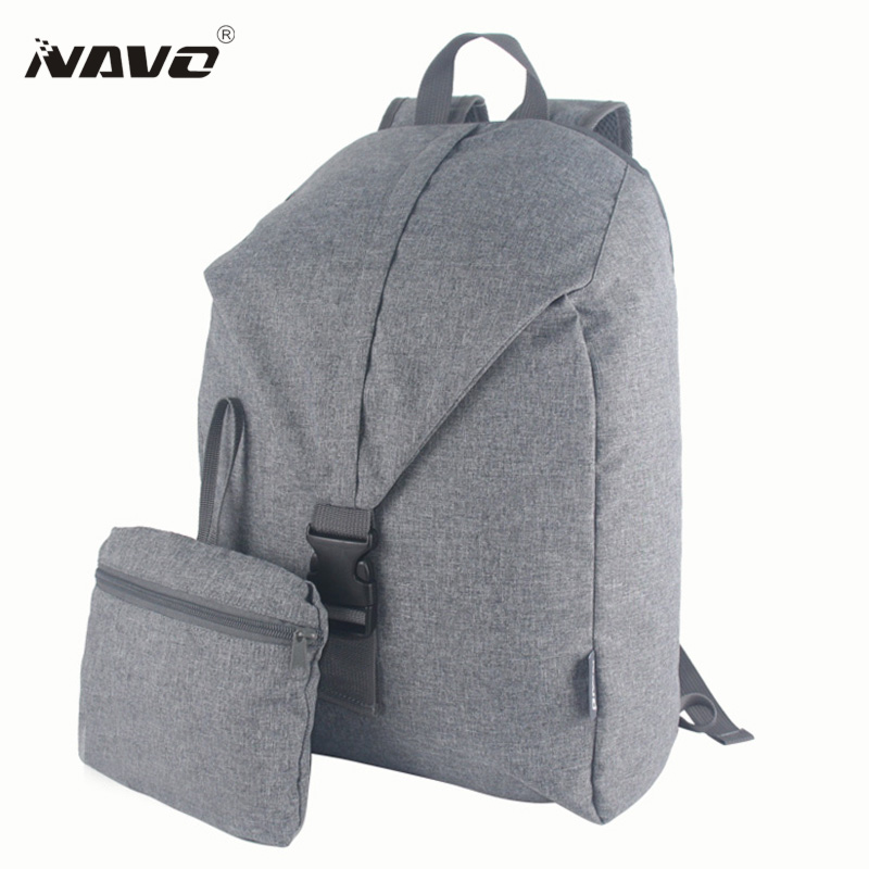 NAVO Brand Folding Backpack New Design School Backpacks for Teenagers Fashion Laptop Bag