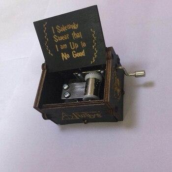 Música Draco Caja Decoración Granger De Potter Ron Scamder Fiesta Magia Handshake Malfoy Juguetes Hermione Harri Niños Madera Newt TOXkuZiP