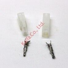 10 компл. 1 P 1way pin большой разъем Tamiya комплект Наборы большой Тамия установить EL 6.2 мм гнездо мужской женский разъем Бесплатная доставка