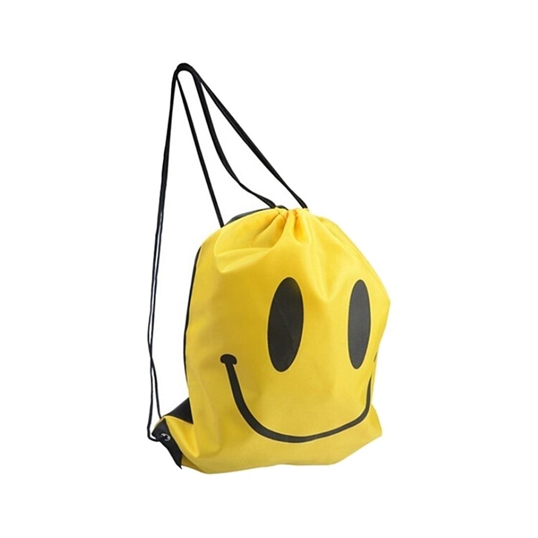 ABDB Smile  Backpack Drawstring Waterproof Bag