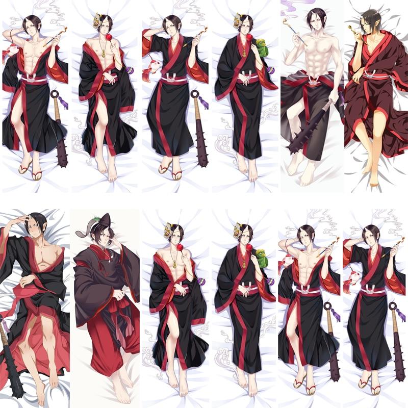 December Update Japanese Anime Hoozuki No Reitetsu Cool Boy HOZUKI Hugging Body Pillowcase Dakimakura Body Pillow Cover Case
