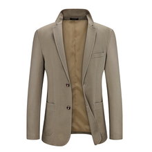 2019 Quality Regualer Men Blazers Single Button Blazer Hombre Jacket And Coat Casual For Mens 0925