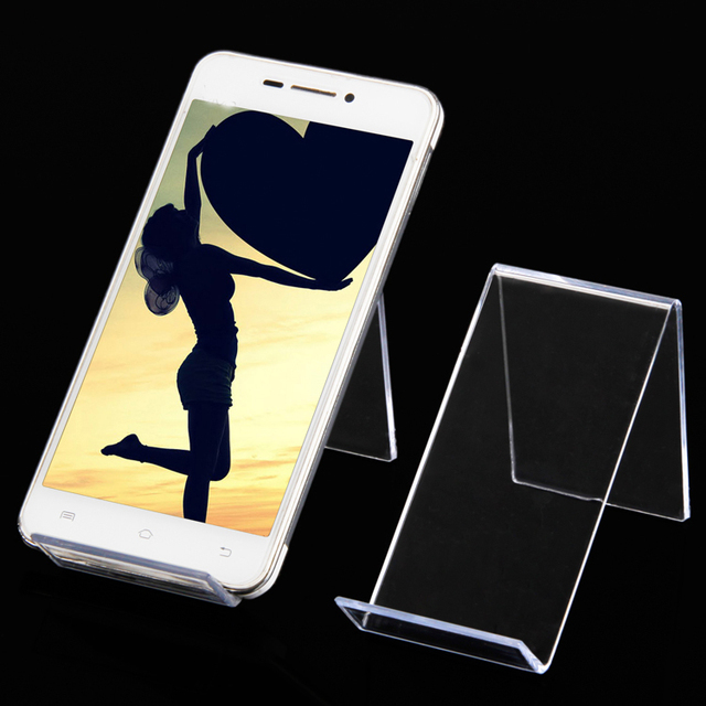 Wholesale 20 plastic clear view cell phone mob display mp4mp3 wholesale 20 plastic clear view cell phone mob display mp4mp3 stand holder af sciox Choice Image