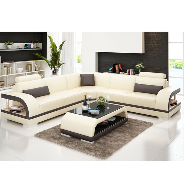 New Arrival Dark Brown Rooms To Go Black Leather Sofa White Stitching For  Home