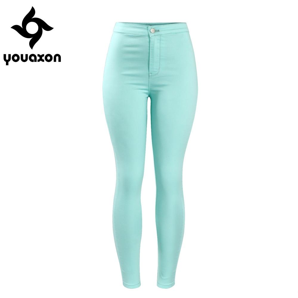 Popular Green Skinny Jeans Women-Buy Cheap Green Skinny Jeans ...