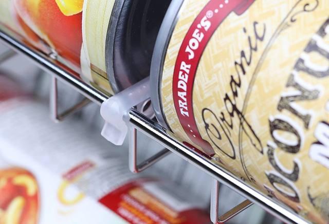Kühlschrank Organizer Stapelbar : Online shop stapelbar kann rack chrom speisekammer organizer