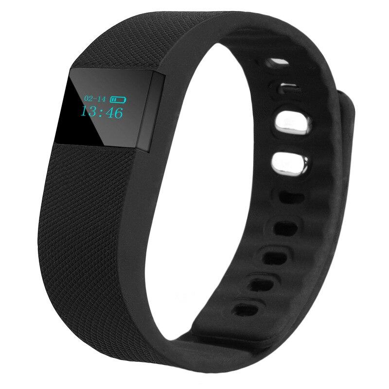 Orijinal TW64 OLED Akıllı Bant VeryFit Spor Akıllı Bilezik Spor Bileklik istihbarat Smartband IOS Bluetooth Flex Için Izle