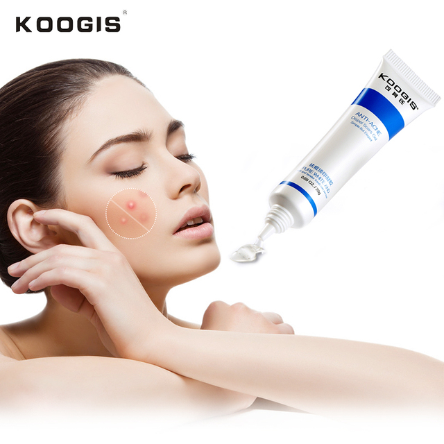 Koogis анти-акне удаления порока гель алоэ увлажняющий масло-контроль уточнить гладкой кожи лица Уход за кожей лечение акне гель KOOGIS2