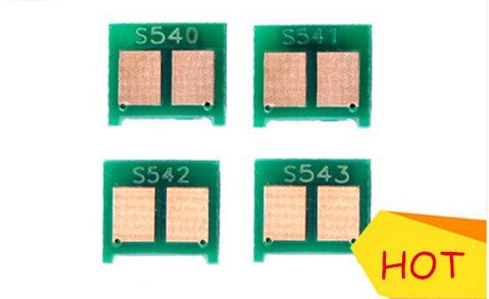 4x Neue Tonerkassette Chip für HP 1215 für HP 540 541 542...