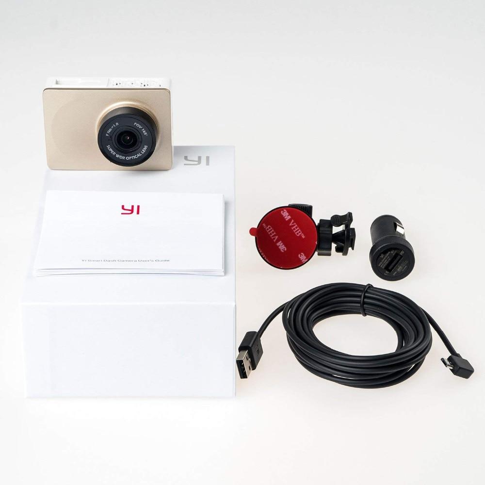 "Image 5 - YI Smart Dash Camera Full HD Car DVR Cam Video Recorder WiFi  Night Vision 1080P 2.7"" 165 Degree 60fps Camera Grey Car Recording-in DVR/Dash Camera from Automobiles & Motorcycles"
