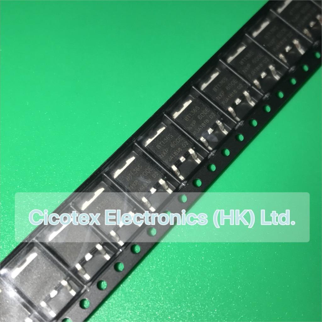 BT136S-600 Triac Sens puerta 600 V 4 A Dpak BT136S-600E