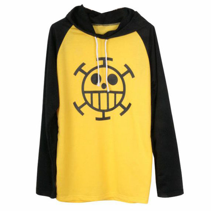 Hot New Trafalgar Law Hoddy Halloween Cosplay Costume Anime One Piece Sweatshirt Death Surgeon Clothes Hoodie Spring Autumn