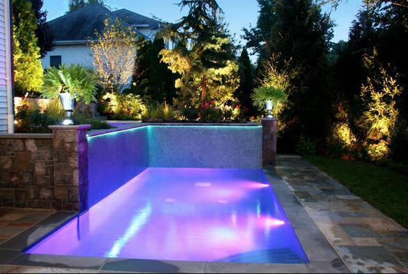 Dhl Cree Mini Led Inground Swimming Pool Light Fountain
