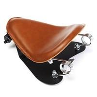 Brown Motorcycle Solo Driver Seat Base Spring Bracket For Harley Sportster Bobber Chopper