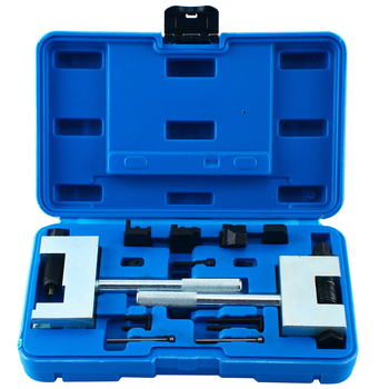 Double Row Camshaft Timing Chain Detacher Diesel Engine Timing Chain Riveted Tool Kit Suitable For Mercedes-Benz W213 W212